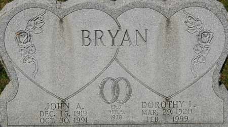 "BRYAN, DOROTHY L ""CLOSE-UP"" - Gallia County, Ohio 
