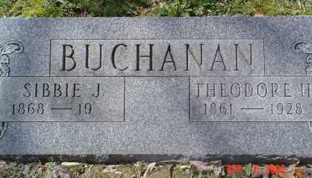 BUCHANAN, THEODORE H. - Gallia County, Ohio | THEODORE H. BUCHANAN - Ohio Gravestone Photos