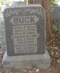 BUCK, SUSAN - Gallia County, Ohio | SUSAN BUCK - Ohio Gravestone Photos