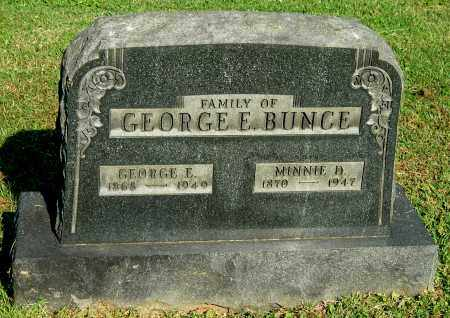 DAVIS BUNCE, MINNIE D - Gallia County, Ohio | MINNIE D DAVIS BUNCE - Ohio Gravestone Photos
