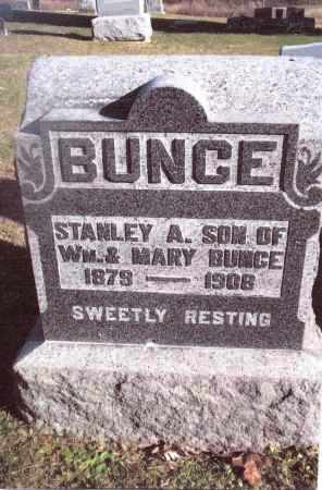 BUNCE, STANLEY A. - Gallia County, Ohio | STANLEY A. BUNCE - Ohio Gravestone Photos