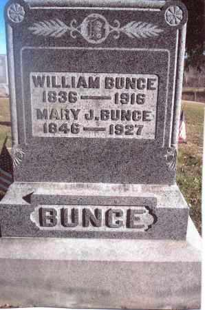 BUNCE, WILLIAM - Gallia County, Ohio | WILLIAM BUNCE - Ohio Gravestone Photos