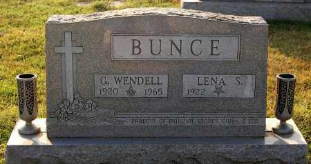 BUNCE, WENDELL - Gallia County, Ohio | WENDELL BUNCE - Ohio Gravestone Photos