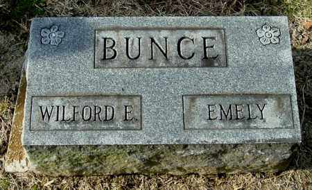 BUNCE, WILFORD D - Gallia County, Ohio | WILFORD D BUNCE - Ohio Gravestone Photos