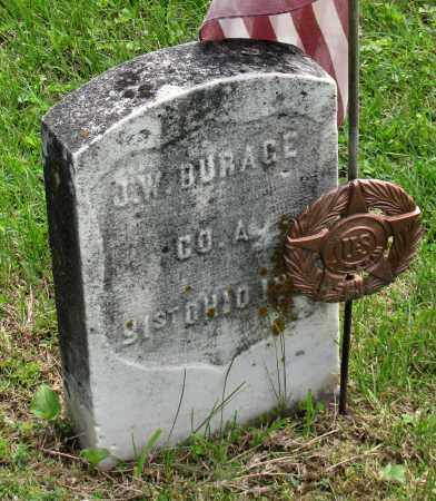 BURAGE, JAMES W. - Gallia County, Ohio | JAMES W. BURAGE - Ohio Gravestone Photos