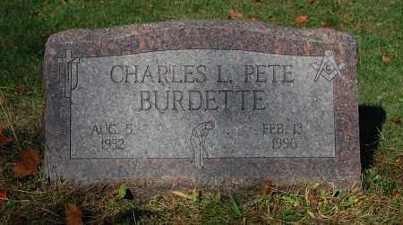 BURDETTE, CHARLES L PETE - Gallia County, Ohio | CHARLES L PETE BURDETTE - Ohio Gravestone Photos