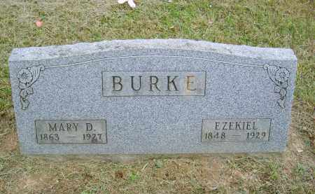 BURKE, MARY - Gallia County, Ohio | MARY BURKE - Ohio Gravestone Photos