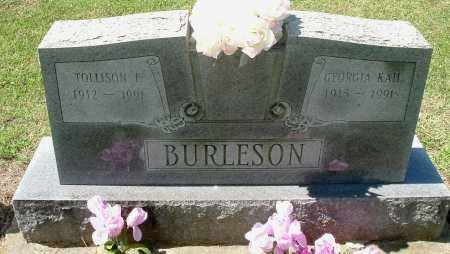 KAIL BURLESON, GEORGIA - Gallia County, Ohio | GEORGIA KAIL BURLESON - Ohio Gravestone Photos
