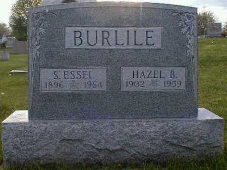 BURLILE, HAZEL - Gallia County, Ohio | HAZEL BURLILE - Ohio Gravestone Photos