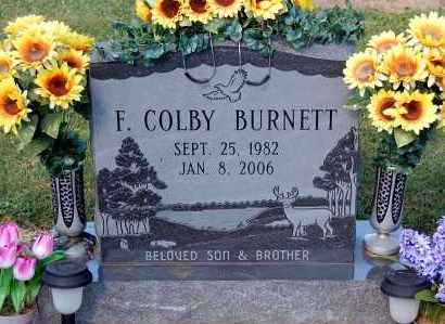 BURNETT, F COLBY - Gallia County, Ohio | F COLBY BURNETT - Ohio Gravestone Photos