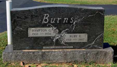 BURNS, HAMPTON G. - Gallia County, Ohio | HAMPTON G. BURNS - Ohio Gravestone Photos