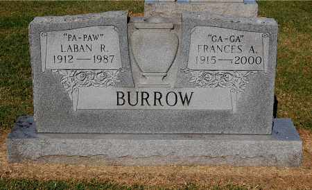 BURROW, FRANCES A - Gallia County, Ohio | FRANCES A BURROW - Ohio Gravestone Photos