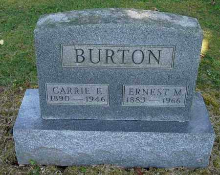 BURTON, CARRIE ELLEN - Gallia County, Ohio | CARRIE ELLEN BURTON - Ohio Gravestone Photos
