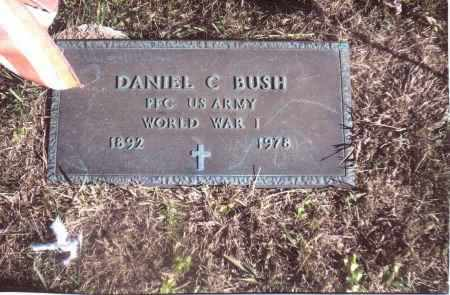 BUSH, DANIEL C. - Gallia County, Ohio | DANIEL C. BUSH - Ohio Gravestone Photos