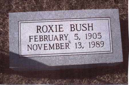 BUSH, ROXIE - Gallia County, Ohio | ROXIE BUSH - Ohio Gravestone Photos