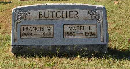 BUTCHER, FRANCIS W. - Gallia County, Ohio | FRANCIS W. BUTCHER - Ohio Gravestone Photos