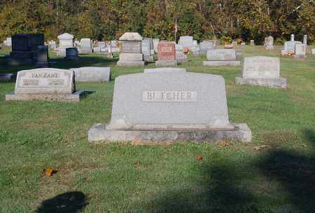 BUTCHER, FAMILY MONUMENT - Gallia County, Ohio | FAMILY MONUMENT BUTCHER - Ohio Gravestone Photos