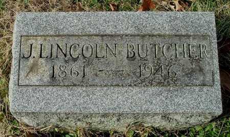 BUTCHER, JAMES LINCOLN - Gallia County, Ohio | JAMES LINCOLN BUTCHER - Ohio Gravestone Photos