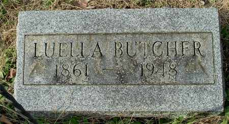 BUTCHER, LUELLA - Gallia County, Ohio | LUELLA BUTCHER - Ohio Gravestone Photos
