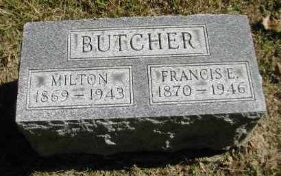 BUTCHER, FRANCIS E. - Gallia County, Ohio | FRANCIS E. BUTCHER - Ohio Gravestone Photos