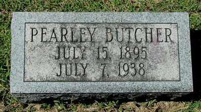 BUTCHER, PEARLEY - Gallia County, Ohio | PEARLEY BUTCHER - Ohio Gravestone Photos