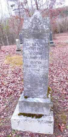 BUTCHER, SAMUEL - Gallia County, Ohio | SAMUEL BUTCHER - Ohio Gravestone Photos