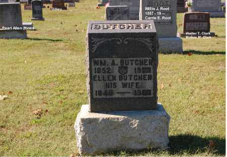 BUTCHER, WILLIAM A. - Gallia County, Ohio | WILLIAM A. BUTCHER - Ohio Gravestone Photos