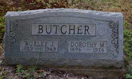 BUTCHER, WORLEY J - Gallia County, Ohio | WORLEY J BUTCHER - Ohio Gravestone Photos