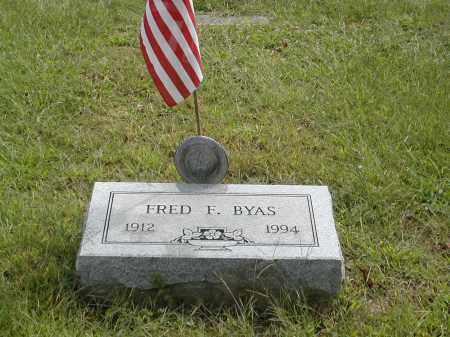 BYAS, FRED - Gallia County, Ohio | FRED BYAS - Ohio Gravestone Photos