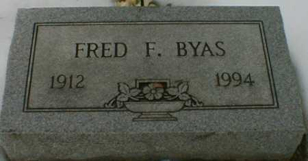 BYAS, FRED - Gallia County, Ohio | FRED BYAS - Ohio Gravestone Photos