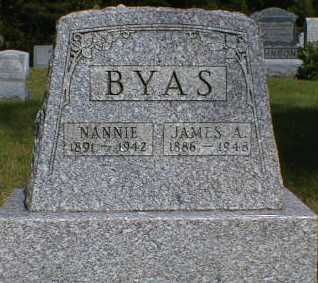 BYAS, JAMES - Gallia County, Ohio | JAMES BYAS - Ohio Gravestone Photos