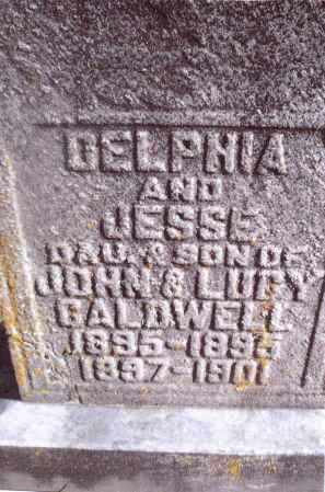 CALDWELL, DELPHIA - Gallia County, Ohio | DELPHIA CALDWELL - Ohio Gravestone Photos