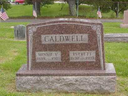 CALDWELL, MINNIE V. - Gallia County, Ohio | MINNIE V. CALDWELL - Ohio Gravestone Photos