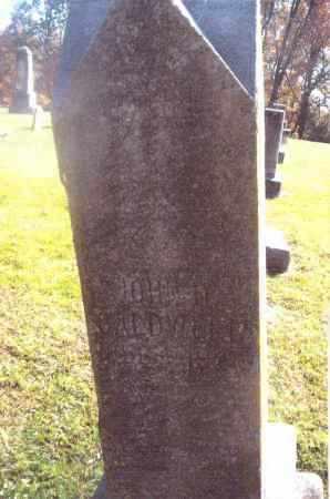CALDWELL, JOHN H. - Gallia County, Ohio | JOHN H. CALDWELL - Ohio Gravestone Photos