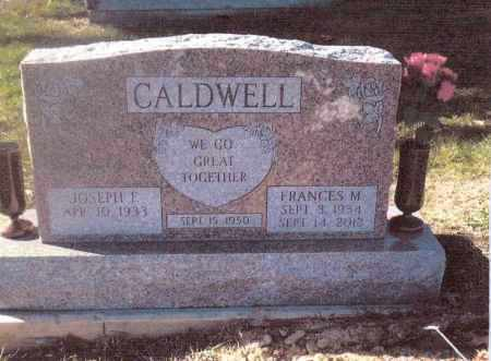 CALDWELL, FRANCES M. - Gallia County, Ohio | FRANCES M. CALDWELL - Ohio Gravestone Photos