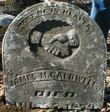 CALDWELL, JAMES - Gallia County, Ohio | JAMES CALDWELL - Ohio Gravestone Photos