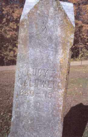 CALDWELL, LUCY P. - Gallia County, Ohio | LUCY P. CALDWELL - Ohio Gravestone Photos