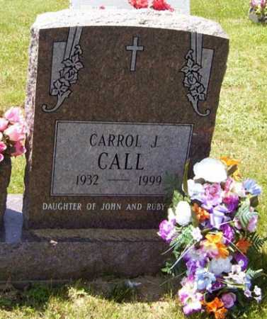 CALL, CARROL J. - Gallia County, Ohio | CARROL J. CALL - Ohio Gravestone Photos