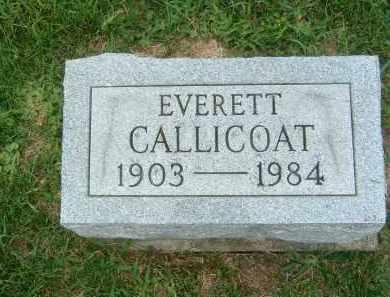 CALLICOAT, EVERETT - Gallia County, Ohio | EVERETT CALLICOAT - Ohio Gravestone Photos