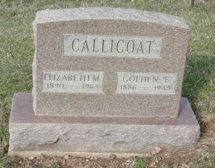 CALLICOAT, GOLDEN E. - Gallia County, Ohio | GOLDEN E. CALLICOAT - Ohio Gravestone Photos