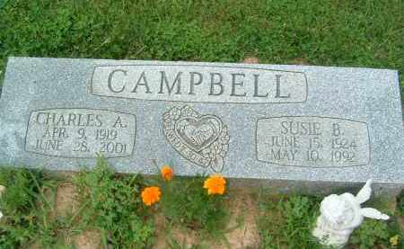 CAMPBELL, SUSIE B. - Gallia County, Ohio | SUSIE B. CAMPBELL - Ohio Gravestone Photos
