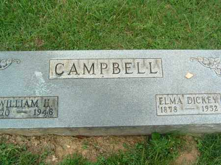 CAMPBELL, ELMA - Gallia County, Ohio | ELMA CAMPBELL - Ohio Gravestone Photos