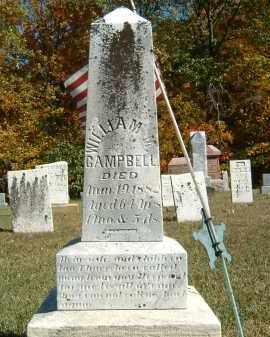 CAMPBELL, WILLIAM M. - Gallia County, Ohio | WILLIAM M. CAMPBELL - Ohio Gravestone Photos