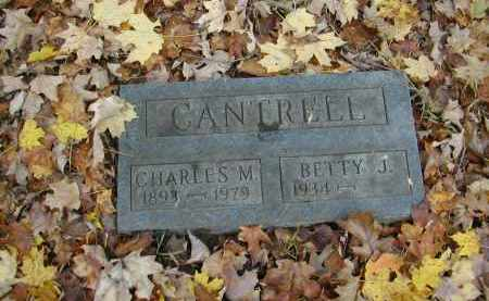 CANTRELL, CHARLES - Gallia County, Ohio | CHARLES CANTRELL - Ohio Gravestone Photos