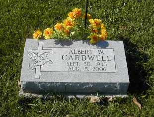 CARDWELL, ALBERT - Gallia County, Ohio | ALBERT CARDWELL - Ohio Gravestone Photos
