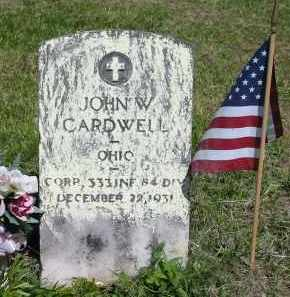 CARDWELL, JOHN W. - Gallia County, Ohio   JOHN W. CARDWELL - Ohio Gravestone Photos