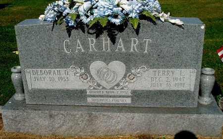 CARHART, DEBORAH D - Gallia County, Ohio | DEBORAH D CARHART - Ohio Gravestone Photos