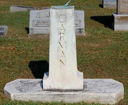 CARMAN, FAMILY MONUMENT - Gallia County, Ohio | FAMILY MONUMENT CARMAN - Ohio Gravestone Photos