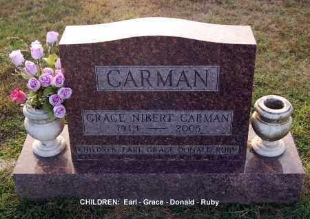 CARMAN, GRACE - Gallia County, Ohio | GRACE CARMAN - Ohio Gravestone Photos