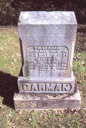 CARMAN, WILLIAM - Gallia County, Ohio | WILLIAM CARMAN - Ohio Gravestone Photos